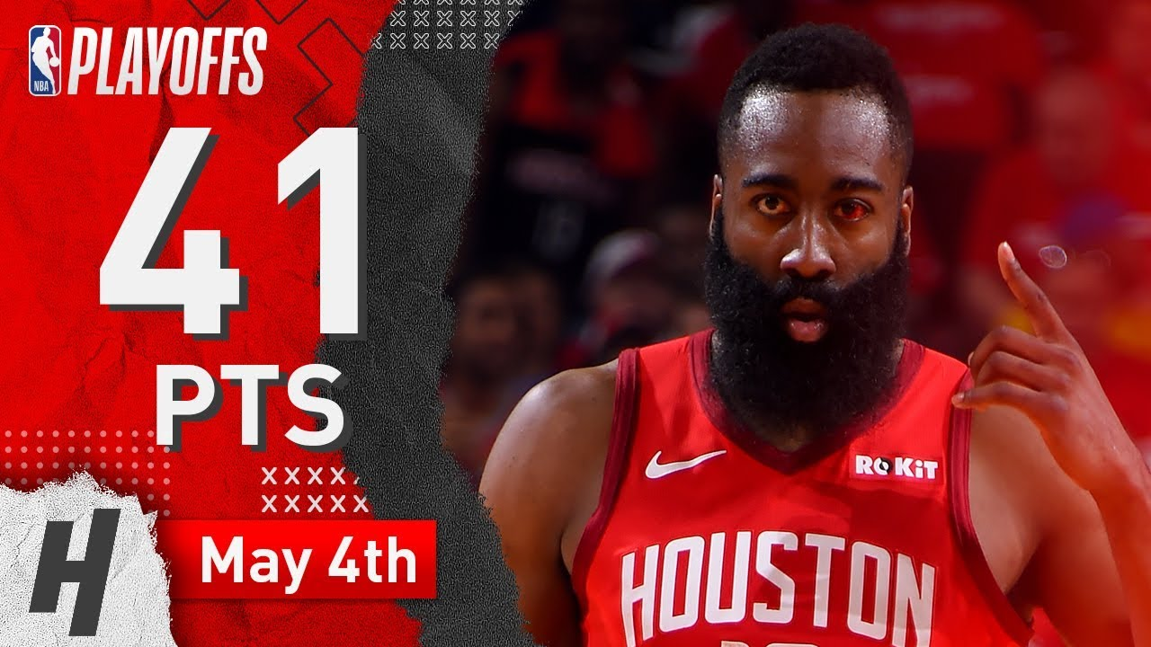James Harden Full Game 3 Highlights Rockets vs Warriors 2019 NBA Playoffs - 41 Pts, 6 Ast, 9 Reb!