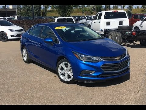 2018 Chevrolet Cruze Premier | Apple CarPlay & Android Auto | Edmonton AB | MA11804 | Crosstown DCJR
