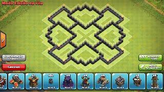 layout cv 7 farming dark elixir