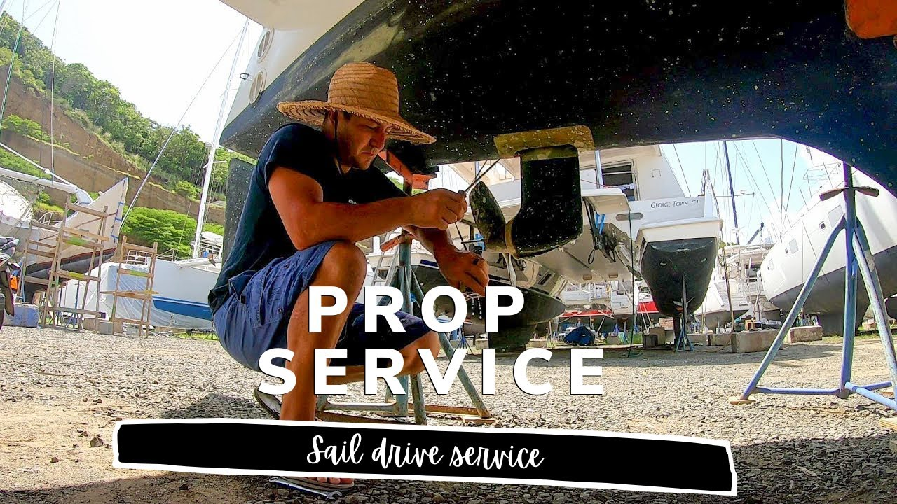 Man vs Prop | Boat Work and Yacht Maintenance
