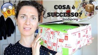 #4 UNBOXING FOODSPRING..MA COSA è SUCCESSO AL MIO PACCO?!