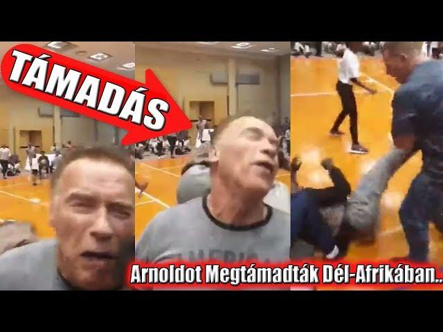 ARNOLDOT MEGTÁMADTÁK Dél-Afrikában.. - Arnold Schwarzeneggert HÁTBARÚGTÁK!