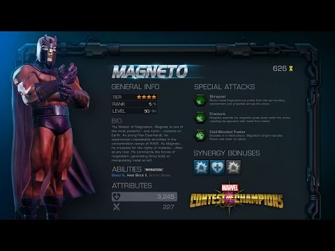 Marvel Contest of Champions: Magneto Motion Comic