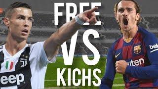 antoine griezmann vs cristiano ronaldo |Free kick 2019