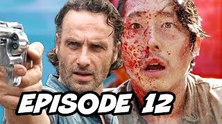 Walking Dead Season 7 Episode 12 - TOP 10 WTF and Easter Eggs