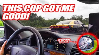 CLEVER FLORIDA COP FOOLS MERCEDES DRIVER INTO PASSING HIM! *PULLED OVER RIGHT AFTER LOL*