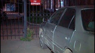 Ворота районного хабаровского суда протаранил пьяный водитель.MestoproTV
