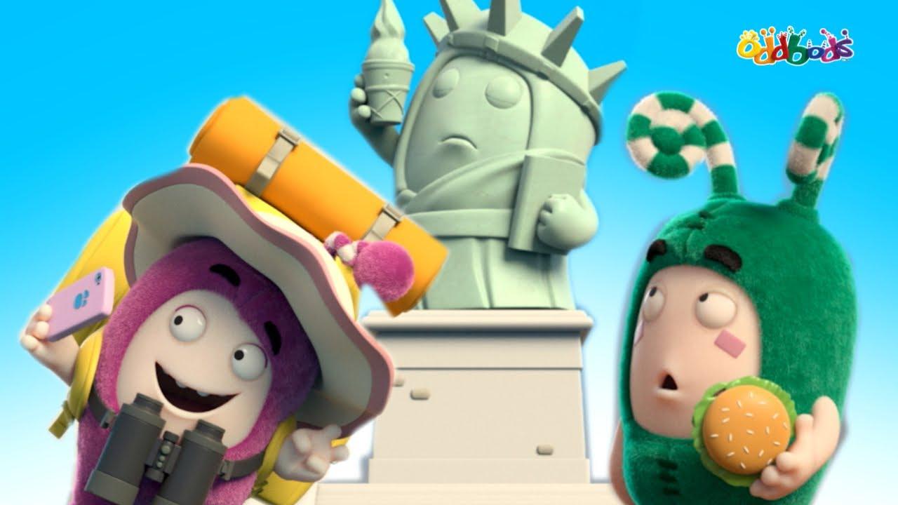 Oddbods | BARU | Celebration Feast | Kartun Lucu Untuk Anak