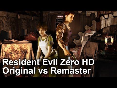 Digital Foundry: Hands-on with the Resident Evil Zero HD
