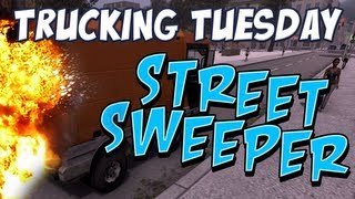 Trucking Tuesday - Street Sweeper Simulator Part 1