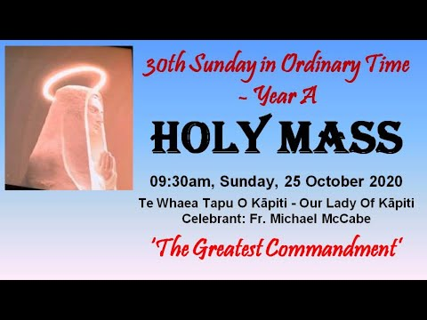 30th Sunday In Ordinary Time - Year A