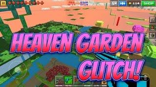 Pixel Gun 3D - Heaven Garden Glitch!