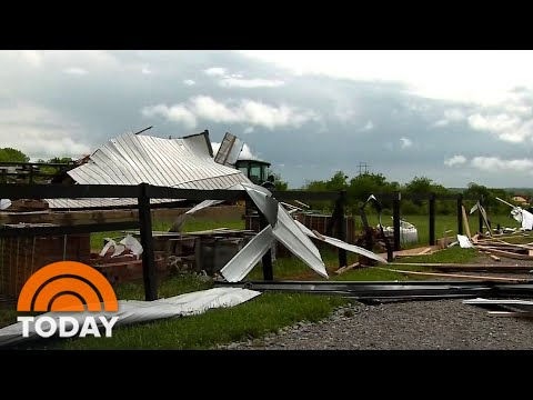 Deadly Tornadoes Pummel The South For Third Straight Day | TODAY