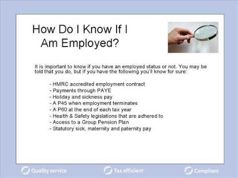 As a contract or freelance worker are you employed or not?