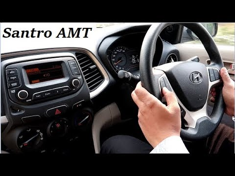 Hyundai Santro Amt Drive Review Lot Better In Than Tiago And Wagon R