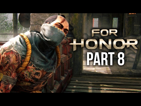 FOR HONOR Walkthrough Part 8 - SAMURAI BOSS - CHAPTER 2.6 (Single Player Campaign)