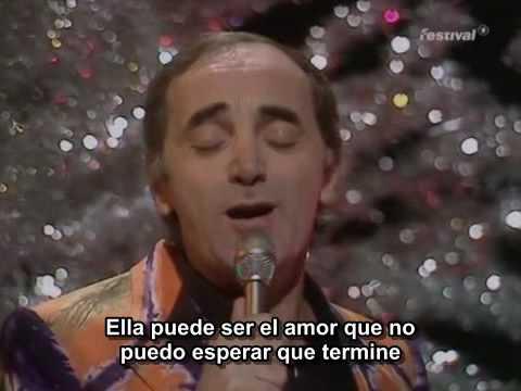 Charles Aznavour - She (sub español)