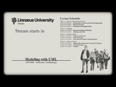1DV600 - Lecture 5 – Modeling with UML