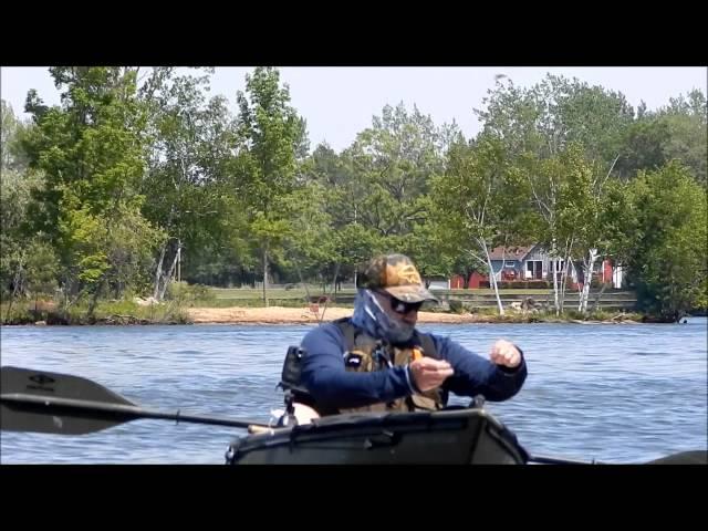 Tag Team Kayak Angling