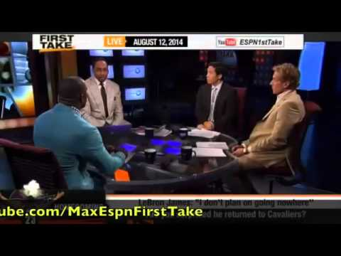 First Take   Were You Surprised Lebron James Returned To Cleveland !