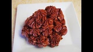 КРЕМ для промазки КОРЖЕЙ или украшения ТОРТОВ Шоколадно масляный крем