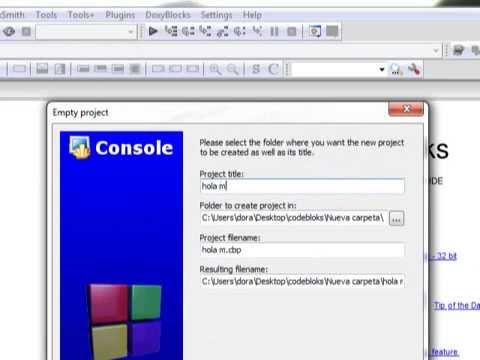 hola mundo en dev c++  for windows 8