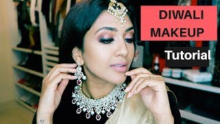 Diwali Makeup Tutorial Vithya Hair and Makeup