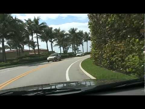 On to Palm Beach, Lake Worth & Lantana, Florida