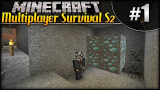 Minecraft: Multiplayer Survival S2 (w/moomoomage) - Episode 1 - Back At It!