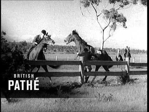 Tally - Ho ! They Hunt The Fox Aka Australian's Hunt The Fox (1939)