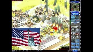 Red Alert 2: America vs 7 brutal enemy - Statue of Liberty