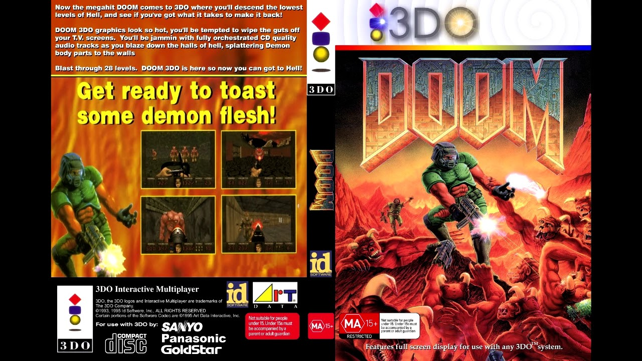 3DO Doom - E1M1: But the tempo is fixed