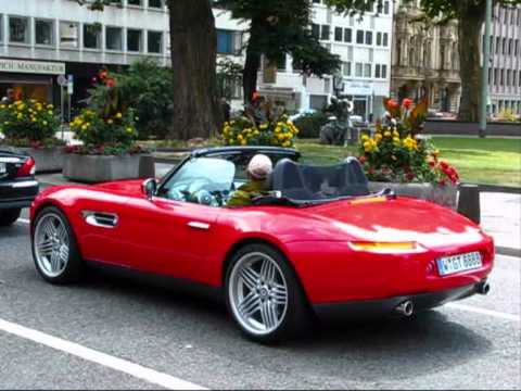 Bmw Z8 With Alpina Rims City Centre D 252 Sseldorf