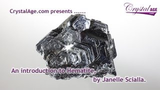 Healing Crystals Guide - Hematite