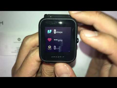 Amazfit Bip Smartwatch Review, Unboxing