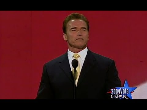Arnold Schwarzenegger - RNC 2004