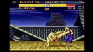 Street Fighter 2 Turbo - Basic Demonstration
