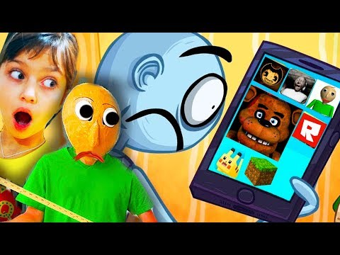 ТРОЛЛИМ БАЛДИ и ВСЕ ИГРЫ в ТРОЛЛФЕЙС! Troll Face Quest Video Games FNAF Валеришка Для Детей children