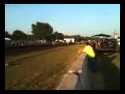 V8 Hot Rod tractor pulling Lane 2012 pattonsburg Missouri N