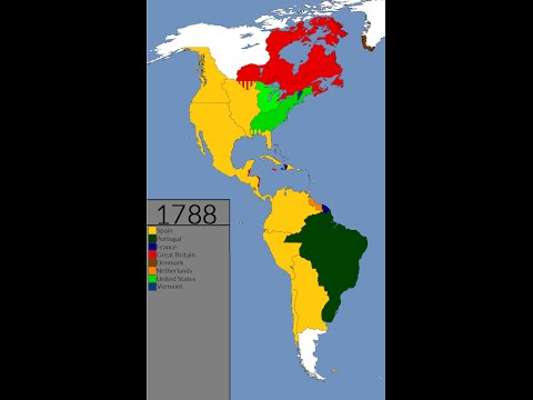 Americas: 1492-2015 (Every Year)