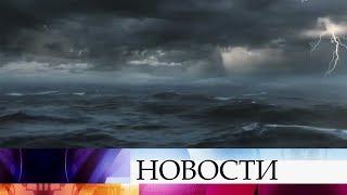 Российский путешественник Федор Конюхов пережил сильный шторм в Тихом океане.