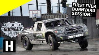 Breaking in the New Yard!! First Ever Burnyard Bash at Irwindale Speedway