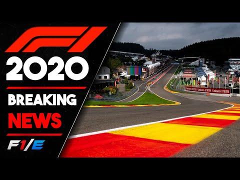 F1 Confirms NEW 8 Race 2020 Calendar