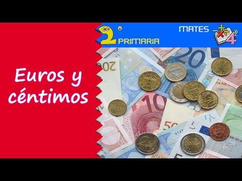 Mate, 2º Primaria. Tema 4. Los euros y los céntimos