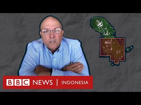 """Kontroversi tambang emas di Pulau Sangihe: """"Kami tidak akan pergi"""" - BBC News Indonesia"""