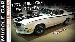 1970 Buick GSX Prototype Show Car Muscle Car Of The Week Episode 284 Video V8TV