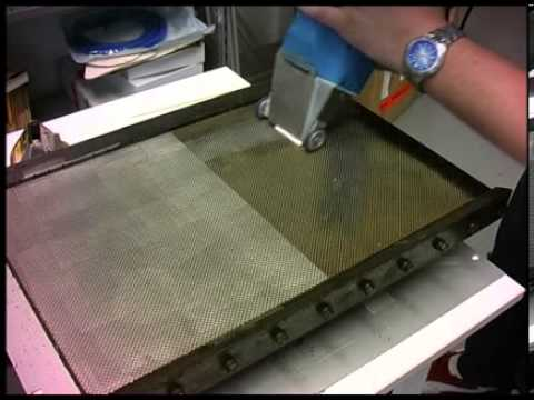 Laser Cleaning Africa Cleaning Baking Trays