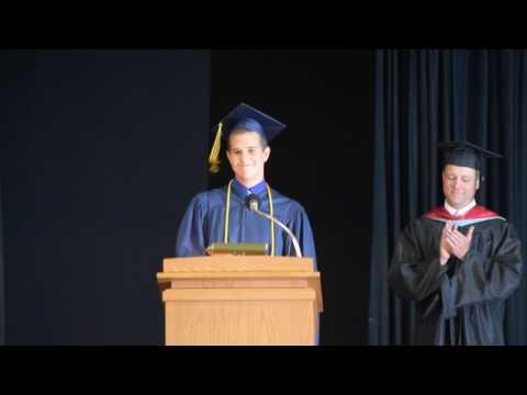 Cameron's 2017 Principia School Senior Class President Speech