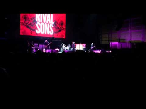 Rival Sons Live in Dunedin New Zealand