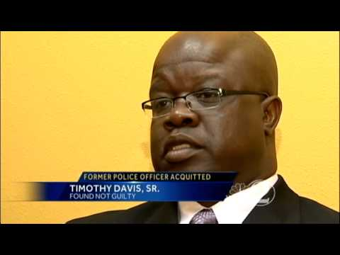 Tim Davis speaks about acquittal